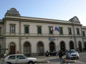 La stazione di Pistoia. 1