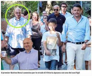 Renzi, il figlio e il personaggio misterioso...