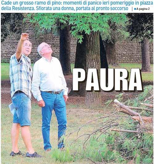 DOPO PIAZZA D'ARMI: SUL VERDE PUBBLICO IL COMUNE RESTA VIGILE