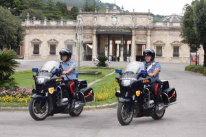 Motociclisti del Norm della Compagnia di Montecatini