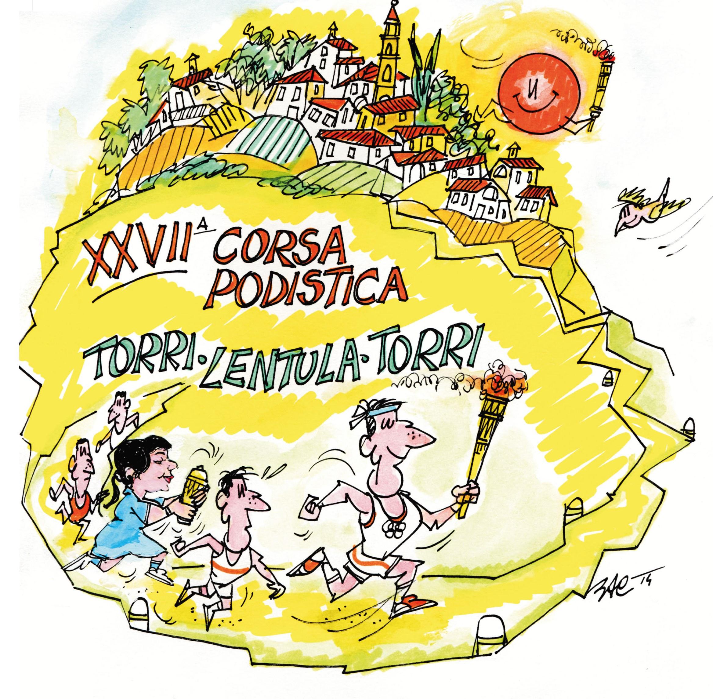 TORRI-LENTULA, 27 ANNI DI CORSA TRA BORGHI E CASTAGNETI SECOLARI