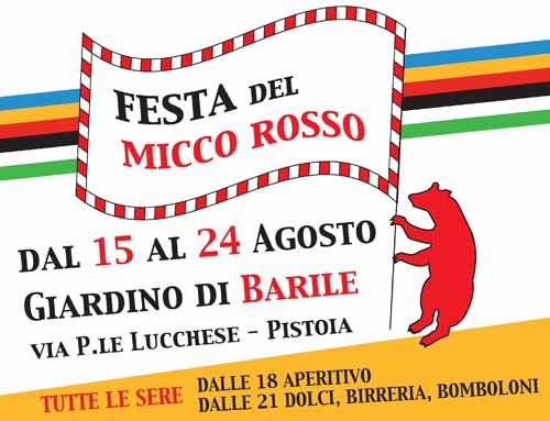 """FESTA DEL """"MICCO ROSSO"""""""