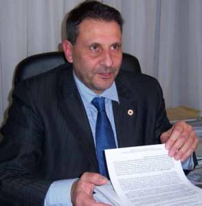 Oreste Giurlani,  Sindaco di Pescia e Presidente dell'Uncem