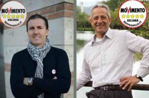I Consiglieri M5S Lafranceschina e Bartoli