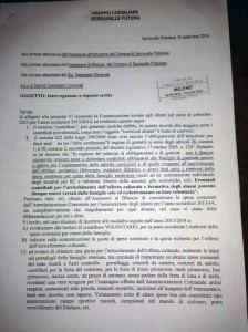 Documento Bolognini. 1
