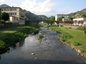 Il fiume Pescia