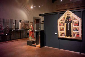 Una sala del Museo Civico di Pistoia