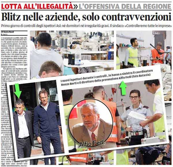 RENZO BERTI E… «LA GIORNATA D'UNO SCRUTATORE»