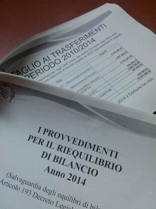 DINDI. SUL TAGLIO DEI TRASFERIMENTI AL COMUNE & ALTRE STORIE