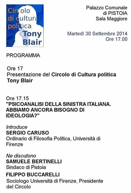 PSICANALISI DELLA SINISTRA ITALIANA