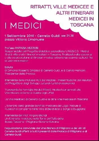 RITRATTI, VILLE E ITINERARI MEDICEI IN TOSCANA
