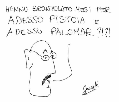 ADESSO PALOMAR, UN PENDOLINO DA IPNOSI PER LA CITTÀ?