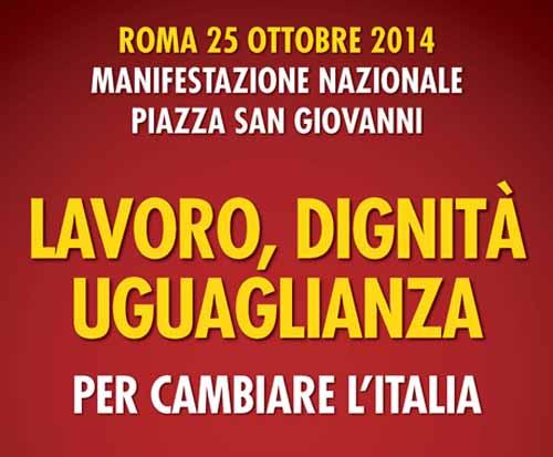 SEL PISTOIA: «TUTTI A ROMA IL 25 OTTOBRE!»