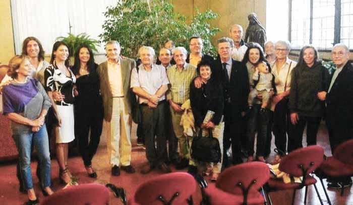 TANTA GENTE IN SALA MAGGIORE PER ROBERTO DEL CORO INVENTORE DI SOGNI