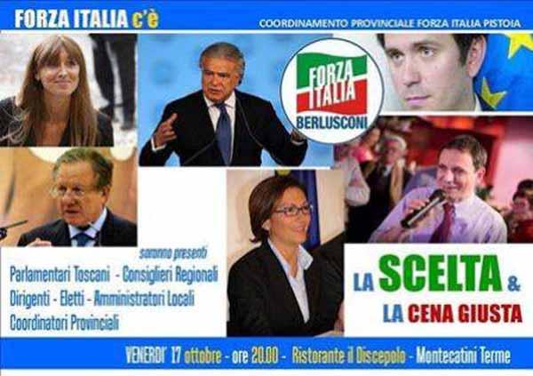 «FORZA ITALIA C'È»