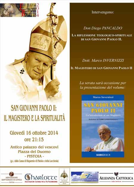 SAN GIOVANNI PAOLO II: MAGISTERO E SPIRITUALITÀ