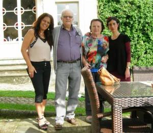 Galia, Edoardo Bianchini, Sol Cittone e Dana Biro a Villa Parri