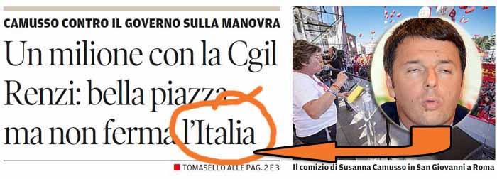 CREDE DI ESSERE L'ITALIA