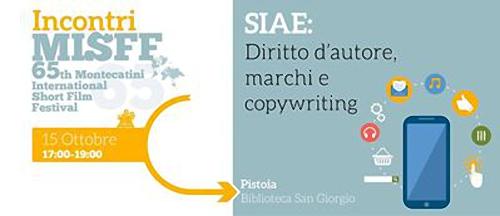 SIAE, DIRITTO D'AUTORE, MARCHI E COPYWRITING