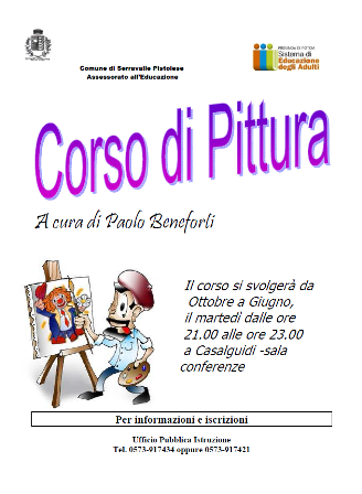 CASALGUIDI, TORNA IL CORSO DI PITTURA
