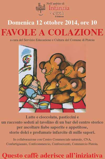 """GRANDE SUCCESSO DELLE """"FAVOLE A COLAZIONE"""""""