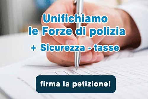 «SETTE FORZE DI POLIZIA? NO, GRAZIE!»