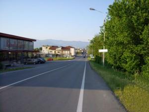 Il triste viale Montalbano a Quarrata