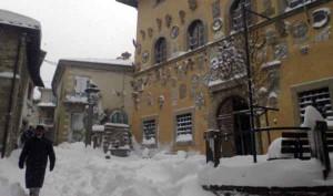 Cutigliano sotto la neve