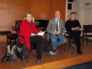 Elena Becheri, Mauro Maccari e Gabriele Cecconi