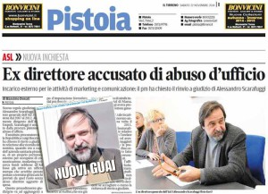 Il Tirreno-La Nazione, 22 novembre 2014
