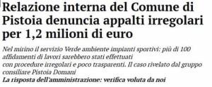 Il Tirreno web, 12 novembre 2014