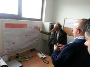 Il direttore Cecchi De Rossi e il presidente Marco Bottino