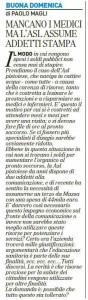 Magli, La Nazione, 11 marzo 2012