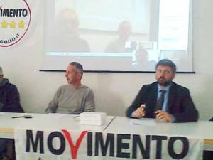 Il Consigliere Bartoli e l'On. Massimo Artini