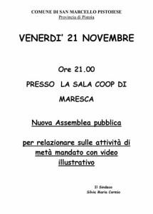 Nuova Assemblea Maresca 21_11_14
