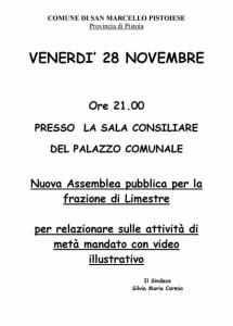 Nuova Assemblea San Marcello_Limestre 28_11_14