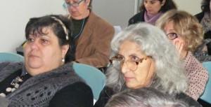 Angela Canelli (a sinistra) e la neo Presidente del Comitato antiinceneritorista Paola Gelli