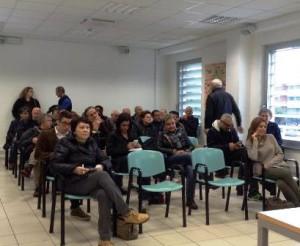 Il pubblico presente alla conferenza stampa