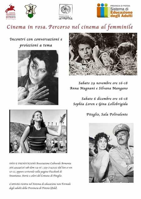CINEMA IN ROSA, PERCORSO AL FEMMINILE