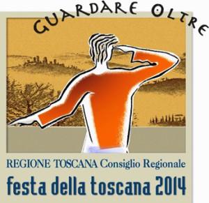 Il logo della festa della Toscana