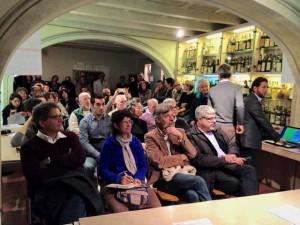 Il pubblico presente all'incontro