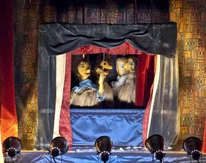 Marionette usate nel gioco