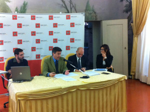 Alessandro Mazzei, Emilio Bonifazi e Anna Rita Bramerini