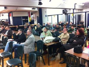 Assemblea sulle casse d'espansione al circolo Mcl San Biagio