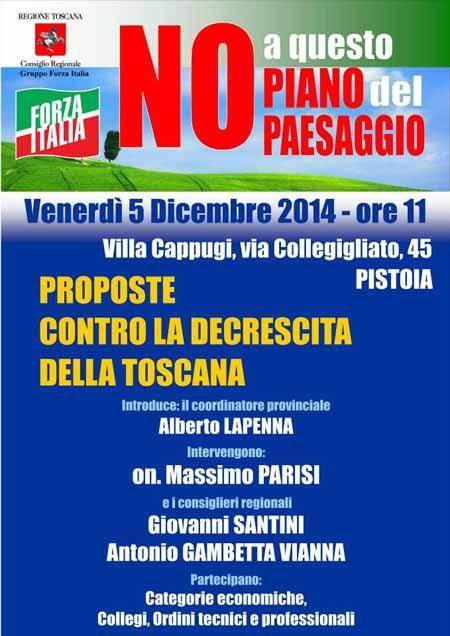 PAESAGGIO: FORZA ITALIA DICE NO ALLA DECRESCITA INFELICE