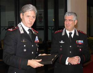 Il Gen. Emanuele Saltalamacchia e il Col. Eugenio Cacciuttolo