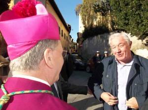 Il Vescovo e don Paolo Tofani