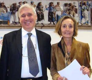 Il dg Roberto Abati e la ds Lucia Turco