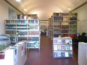 La biblioteca Giuseppe Giusti