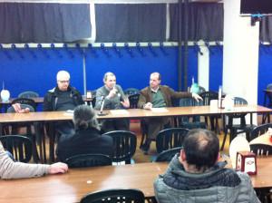 Marco Beneforti, Antonio Sessa e Mauro Chessa a San Biagio